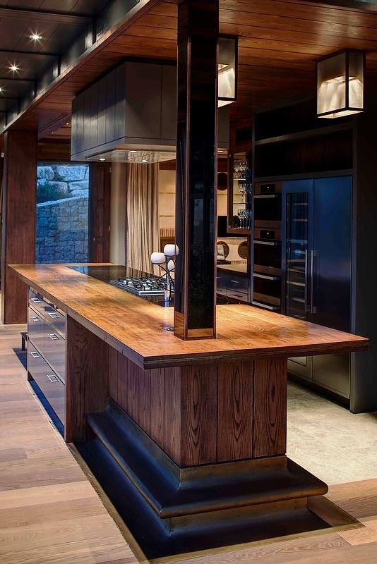 Custom Made Wooden Bar
