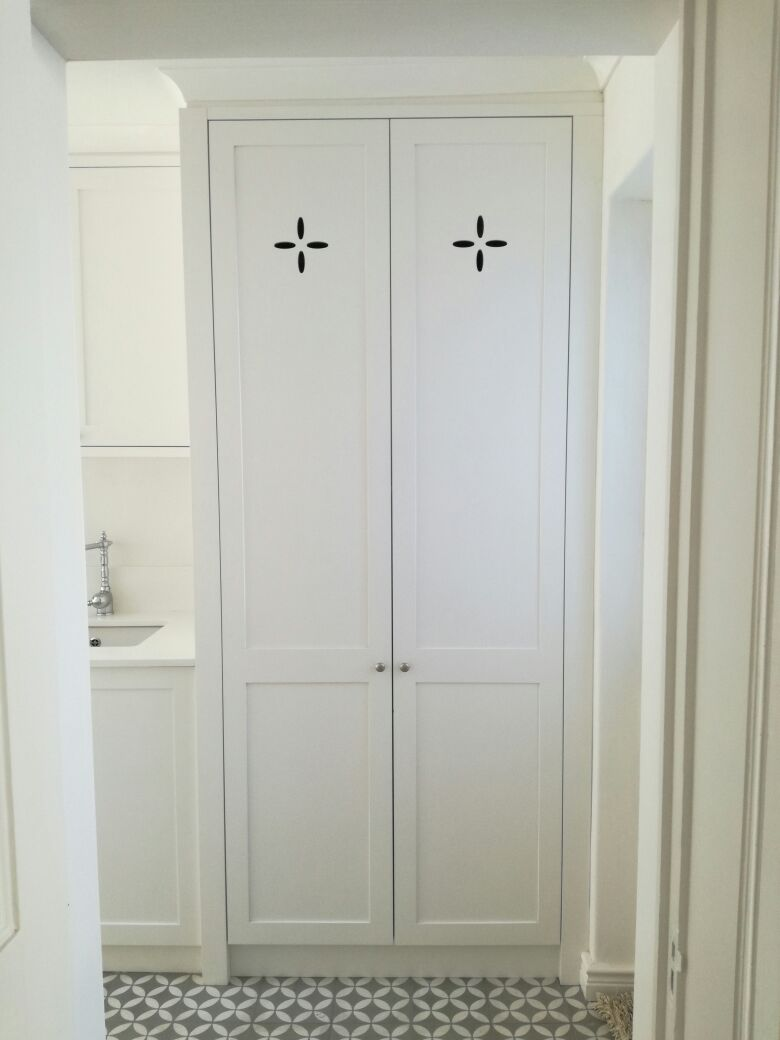 Custom pantry wooden doors
