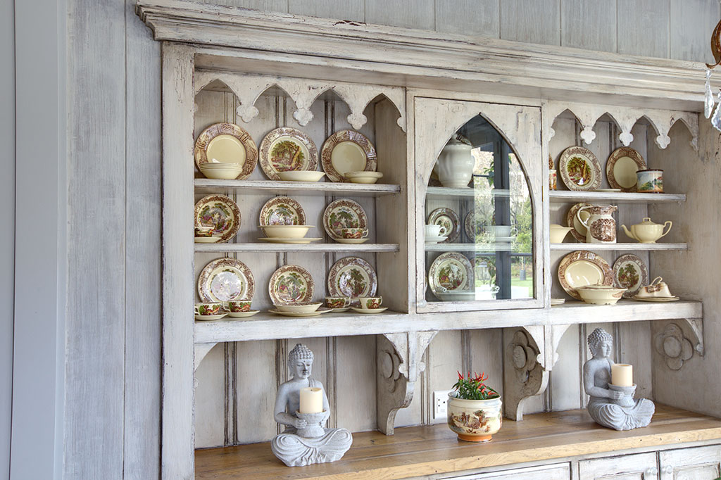 Elaborate Wooden Display Unit