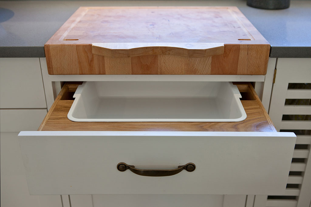 Custom Made Kitchen Drawers
