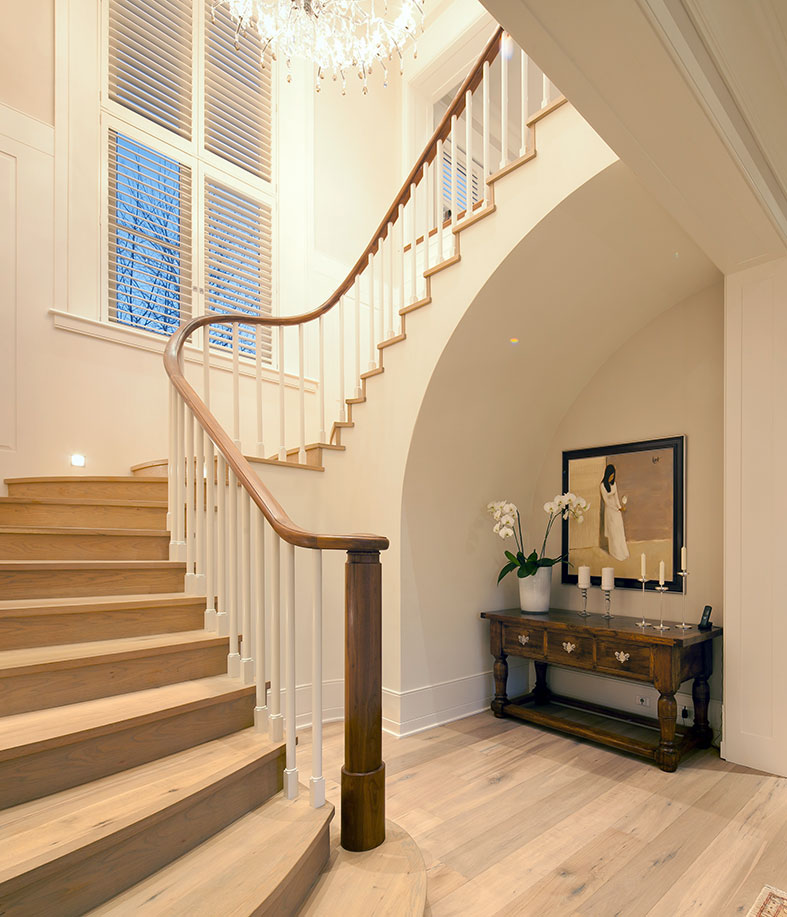 Custom Made Stair Case by Master Crafter