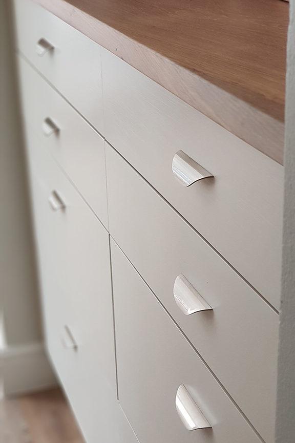 Custom modern chest of drawers