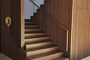 Wooden Staircase by MasterCrafter